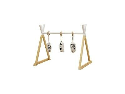 NEW Mocka Felix Wooden Playgym - White