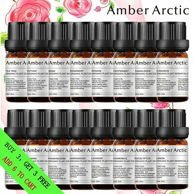 AMBER ARCTIC 100% Pure & Natural OrganicEssential Oils Use in Aroma Diffuser