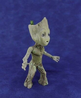 "New Cute Guardians of The Galaxy Vol. 2 Baby Groot 4"" Figure Statue Interest Toy"