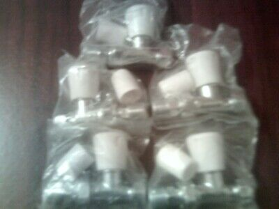 10Mm Straight Radiator Valves 5 Off In Total New