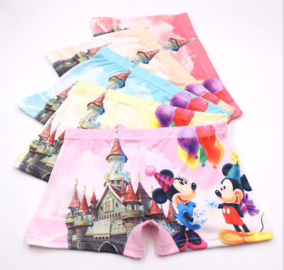 wholesale Girl Boxer Brief Underwear Mickey Mouse Minnie Cartoon Panties Gift