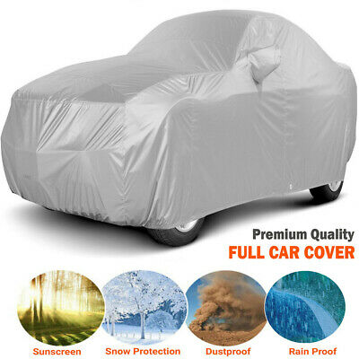 SUV Car Cover Universal Waterproof Scratch Proof Heavy Duty M Size Full Cover UK