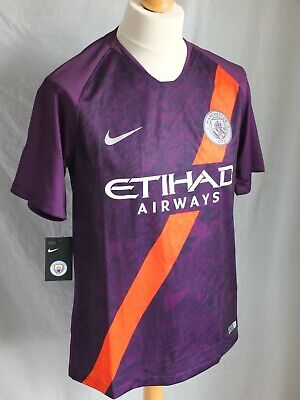 Brand New Genuine Manchester City 2018/19 3rd Away Shirt - Men's Adults Large