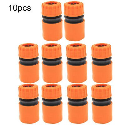 10pcs/Lot Hose Pipe Fitting Quick Garden Water Connector Adaptor ABS Plastic Lot