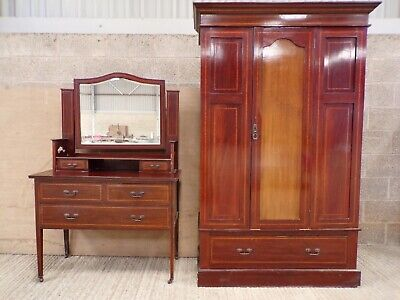 Dressing Table,Edwardian,or maybe 1920 s,With matching walldrobe.