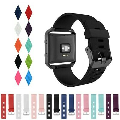 Replacement Silicone Gel Band Sport Strap Bracelet Wristband for FITBIT BLAZE
