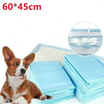 50/100/200 Large Puppy Training Pads Toilet Pee Wee Mats Pet Dog Cat Indoor Tray