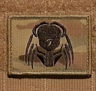 Morale Patch Airsoft - Multi Cam Predator