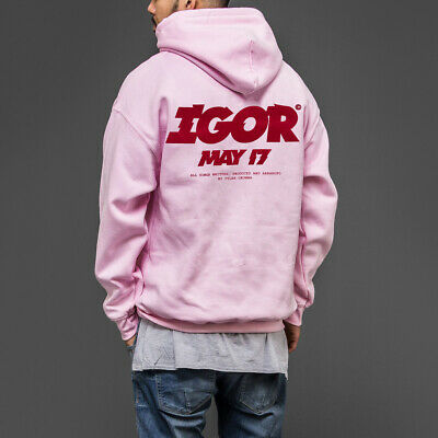 Vote Igor Tyler the creator golf wang odd future light pink hoodie Hoody