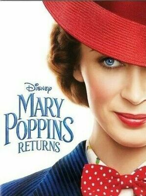 Mary Poppins Returns DVD. Sealed with free delivery. Region 1.