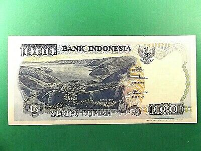 Indonesia 1000 Rupiah Banknote 1992 1997 UNC