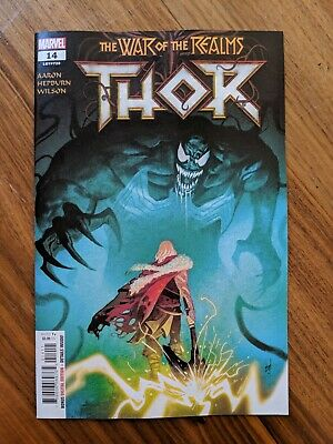 Thor #14 Regular Mike Del Mundo Cover (War Of The Realms Tie-In) Marvel 2019 NM