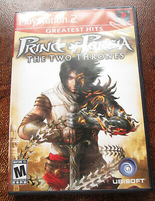 Prince of Persia: The Two Thrones Greatest Hits for Sony PlayStation 2, PS2 CIB