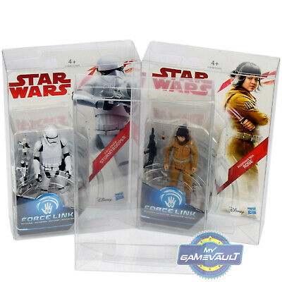 "Star Wars The Last Jedi BOX PROTECTOR for 3.75"" Figures Protective Display Case"