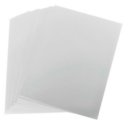 100 Sheets A6 320gsm White Card. Very Thick. Blank Postcards Cardmaking Crafts