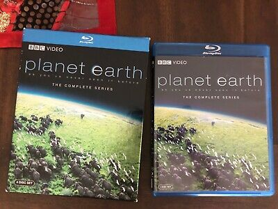 Planet Earth - The Complete Collection Blu-ray, 2007, 4-Disc Set 11 episodes