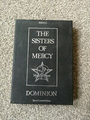 The Sisters Of Mercy - Dominion - Limited Edition Cassette Tape And Box