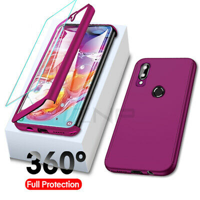CASE For Samsung Galaxy A20e A10 A40 A50 A70 2019 & Screen Protector Full Cover
