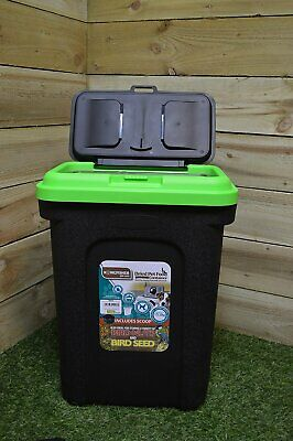 King Fisher Pet or Bird Food Storage Tub, 30 Litre