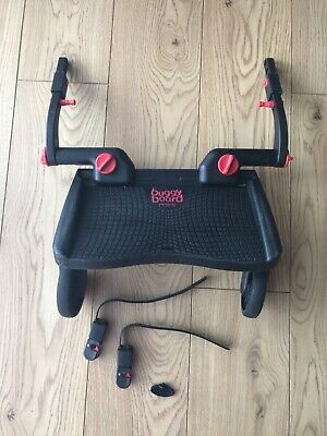 Lascal Mini Buggy Board Red/black with uncut connectors & key
