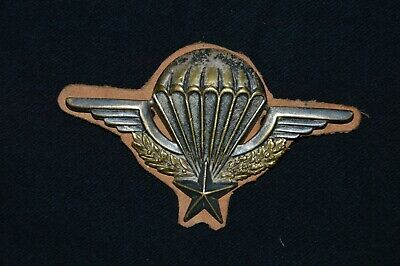 BREVET PARACHUTISTE AUGIS LYON n°51427-FRENCH PARATROOPER BADGE-INDOCHINE