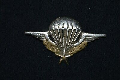 Brevet Parachutiste Augis -Fabrication Locale-French Paratrooper Badge-Indochine