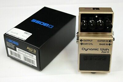 Boss AW-3 Dynamic Wah Guitar Effects Pedal, Open Box Demo Model #AW-3