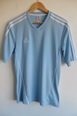 Womens Adidas t-shirt | S | baby blue | Gym Fitness casual Climalite VGC