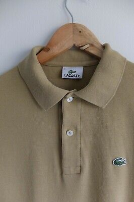 Lacoste s/sleeve polo shirt/t-shirt | Light brown | Small