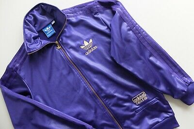 ADIDAS CHILE 62 Shiny Purple With Gold Logo, Rare Model Mens
