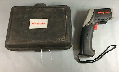Snap On RTEMP20PB Electronic Temperature Gauge Noncontact Thermometer Works Used