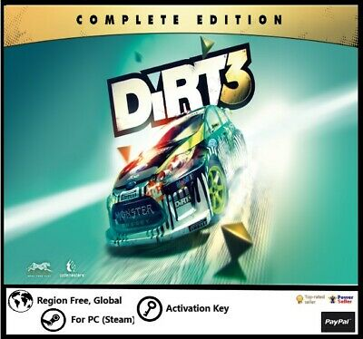 Dirt 3: complete edition game (steam activation key, region free, global)