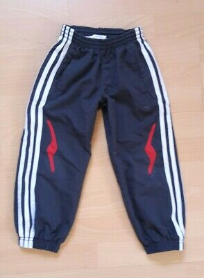 ??ADIDAS SPORTHOSE JOGGINGHOSE Fussball Turnen Gr 104 Climalite Sport Cool??
