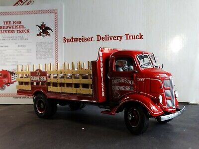 Danbury Mint 1938 GMC Budweiser Beer Delivery Truck 1:24 Scale Diecast Model Red