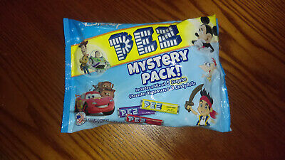 Unopened PEZ Disney/Pixar Mystery Pack ~ 5 Surprise Character Dispensers