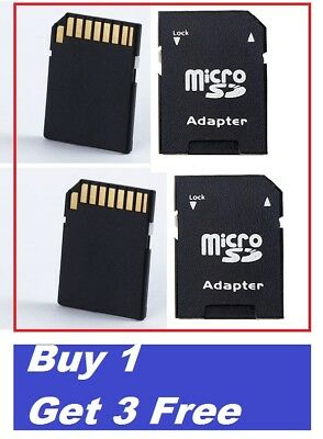 MICRO SD SDHC MEMORY CARD ADAPTOR ADAPTER CONVERTER TO STANDARD SD Buy 1 +3 Free