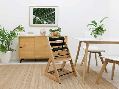 NEW Mocka Soho Wooden Highchair - Natural