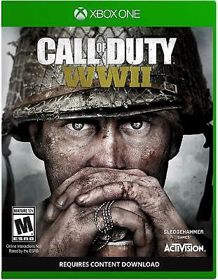 Call of Duty WWII Dog Tag Xbox One BRAND NEW FACTORY SEALED FREE SHIPPING
