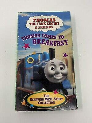 Thomas Train Tank Engine & Friends - THOMAS COMES TO BREAKFAST VHS RARE