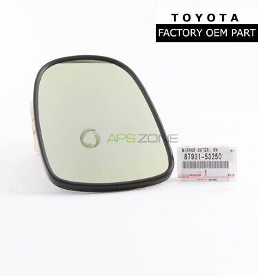 GENUINE LEXUS IS250 IS350 OUTSIDE FRONT RIGHT SIDE GLASS MIRROR OEM 87931-53240