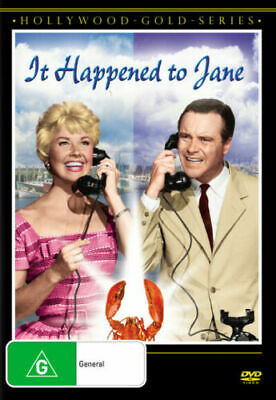 It Happened To Jane DVD DORIS DAY Jack Lemmon BRAND NEW R4
