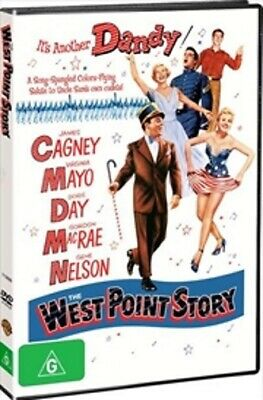The West Point Story DVD V.RARE BEST MUSICAL DORIS DAY James Cagney BRAND NEW R4
