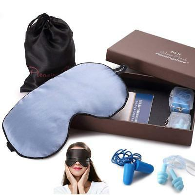 PleasingCare 100% Natural Silk Sleep Mask & Blindfold