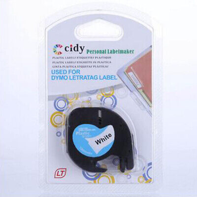 For DYMO LT-100H Labelmanager Label Tape 91201 12mmx4m Practical Professional