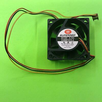 1pc DC Fan SP922512M 92x92x25mm 12V 0.2A UL CSA 2500RPM 50.5CFM 34dBA INNOVATIVE