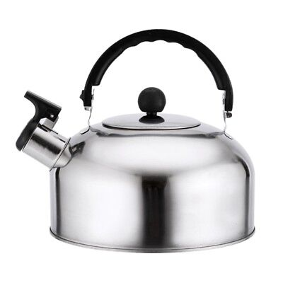 3L Stainless Steel Whistling  Useful Home Camping Caravan Lightweight Fashion