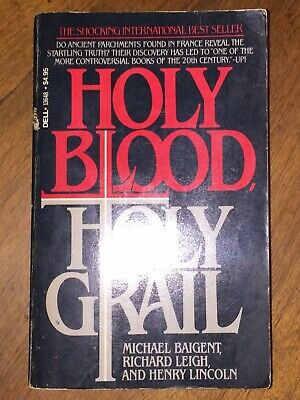 1985 Holy Blood Holy Grail Softcover Book Illuminati Conspiracy Theory Occult