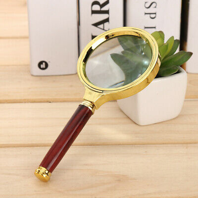 Magnification Handheld Reading Magnifier Magnifying Glass Low Vision Aid 60mm EN