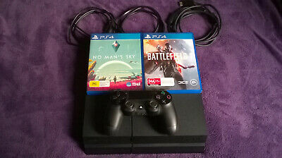 Ps4 Console 1TB With 2 Games