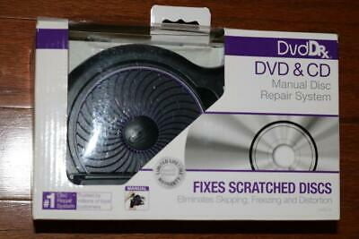 Dvd Dr X Dvd & Cd Manual Disc Repair System For Dvd Movies Video Games New